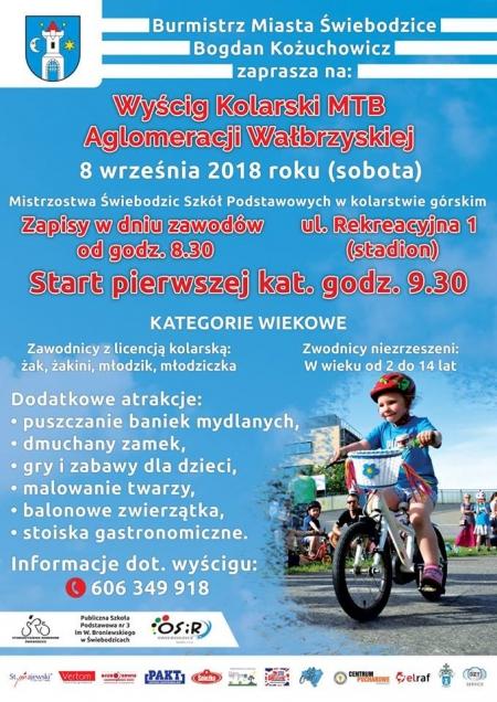 Wyścig Kolarski MTB Aglomeracji Wałbrzyskiej