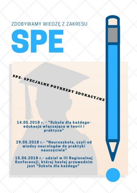 Szkolimy się i zdobywamy kolejne doświadczenia w zakresie SPE
