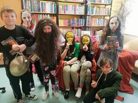 Laureaci Szkolnego Konkursu Pięknego Czytania