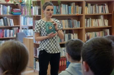 Spotkanie autorskie z pisarką Magdaleną Zarębską