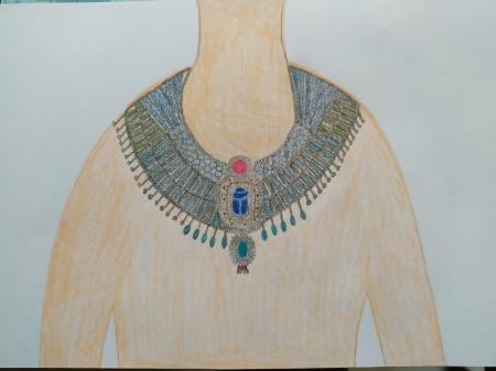 Egipskie naszyjniki