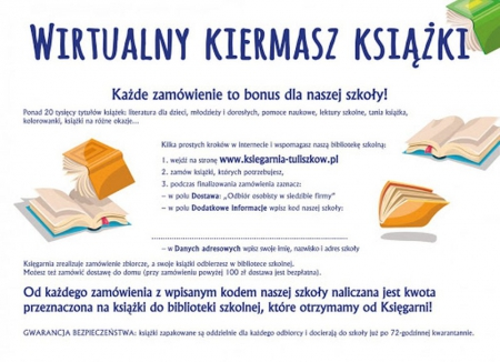 Wirtualny kiermasz książki