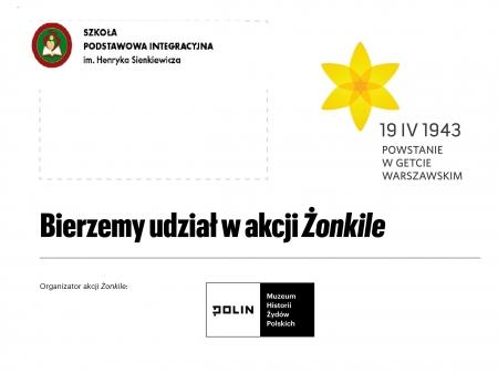 Żonkile 2021 - rocznica Powstania w Getcie Warszawskim