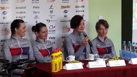 Spotkanie z MAT ATOM Deweloper Womens Cycling Team
